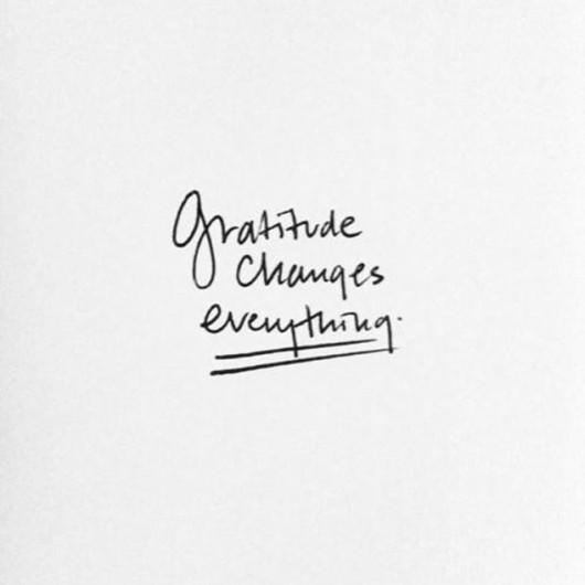 SHAME vs GRATITUDE