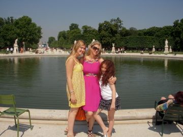 Me with my girls in Paris.