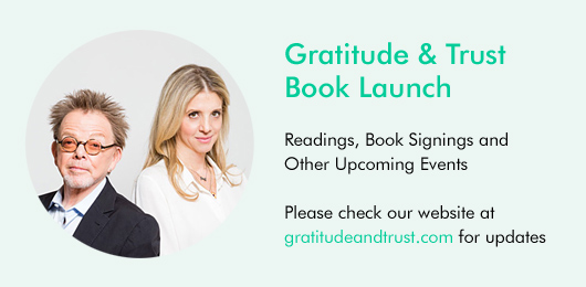 Gratitude & Trust Book Launch and Upcoming Events