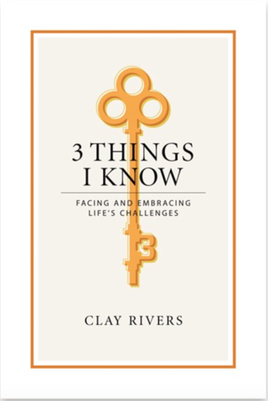 BOOK SUGGESTION – 3 THINGS I KNOW – By Clay Rivers